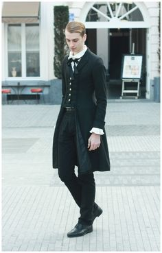 """totentanzdandy: """" My outfit with my beloved Jacket for the Halloween Tea Time in Brussels a few weeks ago. Jacket and Blouse : Alice and the Pirates The rest : Offbrand Picture by Sirius C """""""
