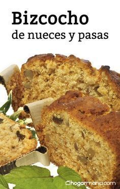 Bizcocho nueces pasas Bread Recipes, Cake Recipes, Cooking Recipes, Chilean Recipes, Plum Cake, Biscuits And Gravy, Easy Bread, Food Humor, Sweet Bread