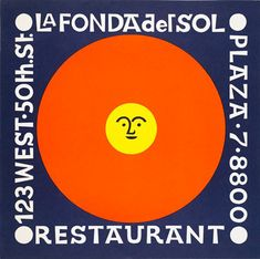 Alexander Girard, La Fonda del Sol, 1960 (I ate there in the '60s)