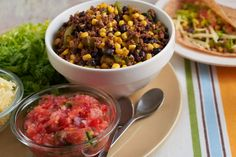 Tex-Mex Skillet | Cooking Matters  Yum! If you're not too dipped out form your super bowl festivities give this hearty dip a try.