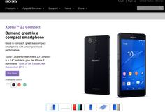 Sony Xperia Z3 Compact listed on U.S. Sony Mobile Store, 'Buy Now' button lies http://www.ultradroid.net/sony-xperia-z3-compact-listed-u-s-sony-mobile-store-buy-now-button-lies/