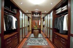 Contemporary Closet by Danenberg Design