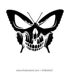 Find Butterfly Skull Tattoo stock images in HD and millions of other royalty-free stock photos, illustrations and vectors in the Shutterstock collection. Thousands of new, high-quality pictures added every day. Skull Couple Tattoo, Skull Tattoos, Sleeve Tattoos, Cat Tattoo, Foot Tattoos, Moth Tattoo Design, Fairy Tattoo Designs, Skull Stencil, Tattoo Stencils