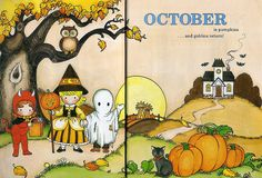 A Child's Year, October, by Joan Walsh Anglund.