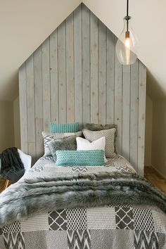 Modern patchworkNewExclusive at your Brunelli retailerQuilt, quilted duvet cover and accessories made of cottonShown with Baloo throw and Dorothy aqua cushions Quilt Bedding, Duvet Covers, Master Bedroom, Cushions, Quilts, Interior, Inspiration, Furniture, Home Decor