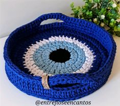 Crochet Socks Pattern, Crochet Basket Pattern, Crochet Square Patterns, Crochet Poncho, Crochet Stitches, Knitting Patterns, Crochet Eyes, Love Crochet, Easy Crochet