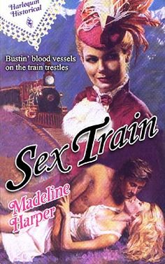 Romantic & erotic book covers with trains Haha Funny, Funny Memes, Hilarious, Funny Shit, Funny Pins, Funny Stuff, Romance Novel Covers, Romance Novels, Funny Romance