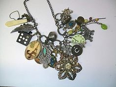 art charm necklace
