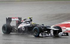 Bruno Senna 6 no GP da Malásia 2012. Corrida brilhante!!