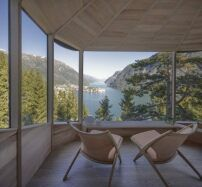 Larch Cladding, Co Housing, Forest Floor, Architecture Office, Cabins In The Woods, Large Windows, Country Living, Norway, Shelter
