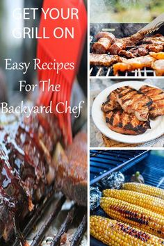 Get easy time saving BBQ recipes for the up and coming backyard BBQ chef. Chicken Leg Recipes, Marinated Chicken Recipes, Smoked Meat Recipes, Grilled Steak Recipes, Grilling Recipes, Beef Recipes, Grilling Tips, Delicious Dinner Recipes, Great Recipes