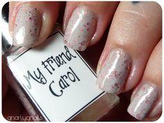 Gnarly Gnails: Whimsical Week - Day 5 - My Friend Carol