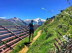 Home Trails . #Photo @bdayer  running again on my home trails  #neverstopexploring #swissalps #switzerland . Welcome to #RunnerLand  Lets follow us / Tag #RunnerLand on your photos / Turn on our post notifications for featured .