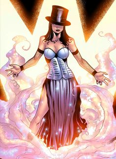 Zatanna of Justice League Dark