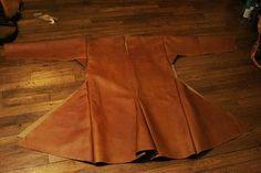 making of a leather Skjoldehamn tunic 3 by djorll.deviantart.com on @deviantART