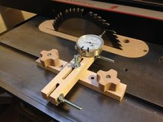 Table Saw Blade/Fence Alignment Jig