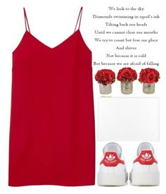 A Lovely Night by theapapa on Polyvore featuring polyvore fashion style Alexia Ulibarri adidas Originals Whistles The French Bee clothing