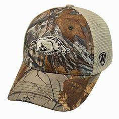 finest selection cc17f c8d75 Arkansas Razorbacks Camouflage Caps Camo Hats, Realtree Camo, University Of  Arkansas, Camo Patterns