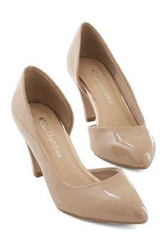 Treasure Stroll Heel in Tan | Mod Retro Vintage Heels | ModCloth.com