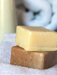Use your farm-grown goat or cow's milk to make your own soap! Photo by Stephanie Staton
