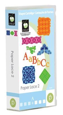 Paper Lace 2 Cricut Cartridge