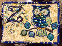 Owl Mug rugs