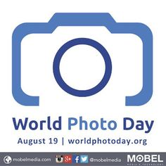 Happy World #Photography Day #WorldPhotoDay August 19th - Never stop taking pictures! @worldphotoday