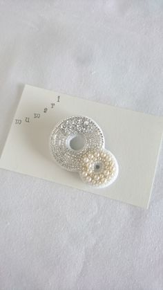 Hand Embroidery Designs, Beading, Stud Earrings, Pattern, Jewelry, Appliques, Needlepoint, Embroidery, Bijoux