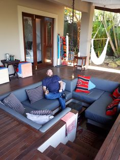 Relaxing after a long day behind the lens - Jakita's Guest House in Ballito Outdoor Sectional, Sectional Sofa, Long Day, Outdoor Furniture, Outdoor Decor, Behind The Scenes, Photographs, Lens, Relax