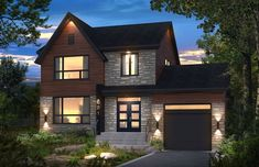 Bonneville Homes is a family business and one of Canada's leading manufacturers of pre-built homes. Pre Built Homes, Storey Homes, Sims House, Prefab Homes, Modular Homes, Small House Plans, House Goals, Exterior Design, Future House