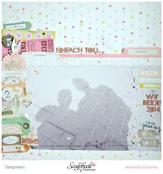 Layout Wir Beide 2014 mit Note & Things von Crate Paper - Scrapbook Werkstatt - designed by Alexandra Boehnke (Tandi-Works)