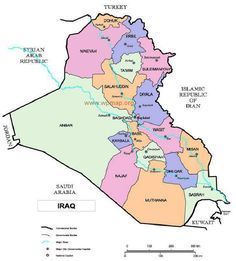 map of erbil