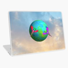 Earth up to the Sky by azimaplace | Redbubble Up To The Sky, Parrots, Top Artists, Laptop Sleeves, Earth, Parrot, Mother Goddess, Parakeets, World