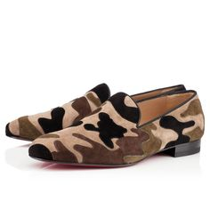 Christian Louboutin Mercenaire Loafers Camouflage
