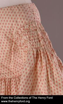 Girl's Dress, ca. 1840 (detail) 88.0.1191.1 The Henry Ford