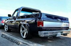 Gorgeous 81 Chevy truck