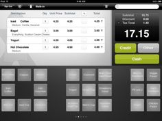POS apps that can be used in place of a register.