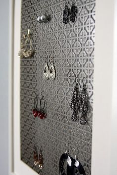 Radiator metal covers from Home Depot this is a must in every girls closet!!!
