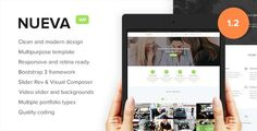 Nueva - Responsive Multi-Purpose WordPress Theme - Corporate
