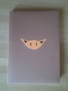 The fox notebook! Cute!