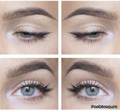 Impressive eye make-up models - # impressive. impressive eye make-up models Eyeliner Trends, Eyeliner Make-up, Makeup Eyeshadow, Everyday Eyeliner, Everyday Makeup, Simple Makeup, Natural Makeup, Simple Eyeliner, Makeup Inspo