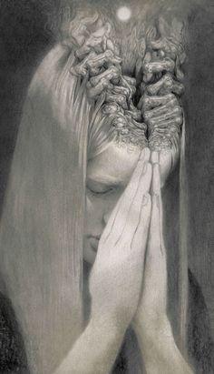 Burden of Self by Miles-Johnston.deviantart.com on @DeviantArt