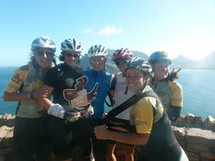 Smiling happy cyclists!