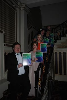 Approach PR show off their winnings at the 2012 Yorks and Lincs PRide awards evening
