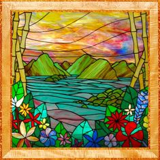tropical stained glass - Google Search