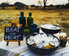 Beat The Heat!! Safari Food, Delicious Desserts, Yummy Food, Beat The Heat, Main Meals, Beats, Breakfast, Morning Coffee, Delicious Food