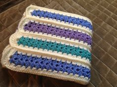 Who wants to be Martha when I can be ME?: My Version of the Mile-A-Minute Baby Afghan