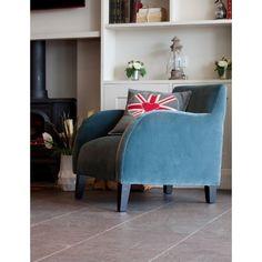 Snug Velvet Chair www.roseandgrey.co.uk #velvetchair