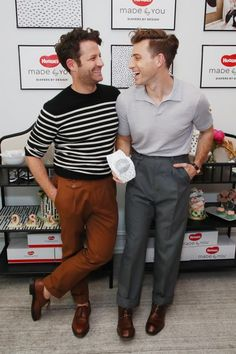 Nate Berkus and Jeremiah Brent Celebrate New Baby Oskar Cute Gay Couples, Famous Couples, Tobias, Nate And Jeremiah, Boy Fashion, Mens Fashion, Nate Berkus, Neutral Outfit, Parenting Styles