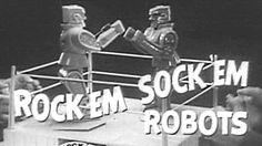 1964 - Commercial - Rock 'Em Sock 'Em Robots by Marx Toys!
